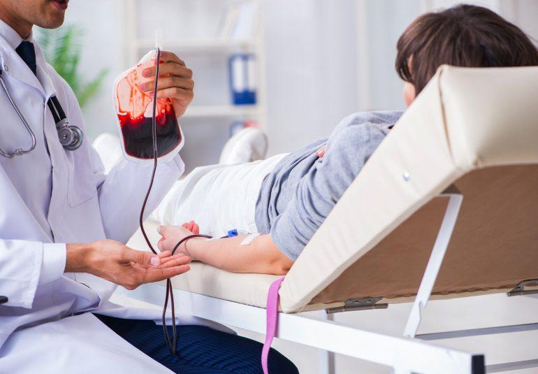 Trasfusione di sangue